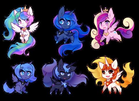 little horse princesses