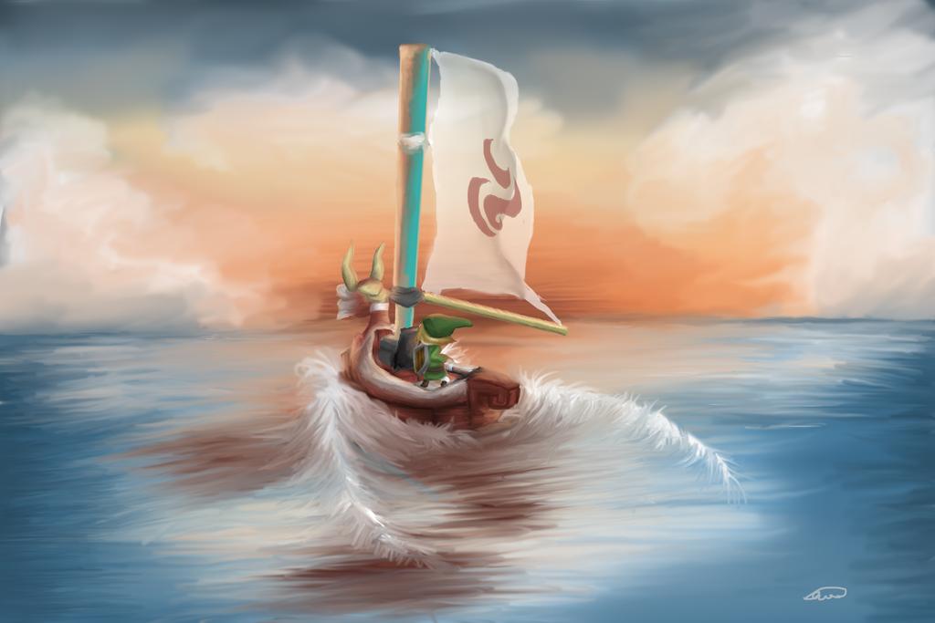 Wind Waker by Averageon