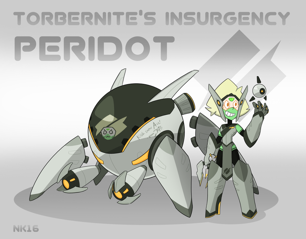 torbernites insurgency peridot by thegraffitisoul on
