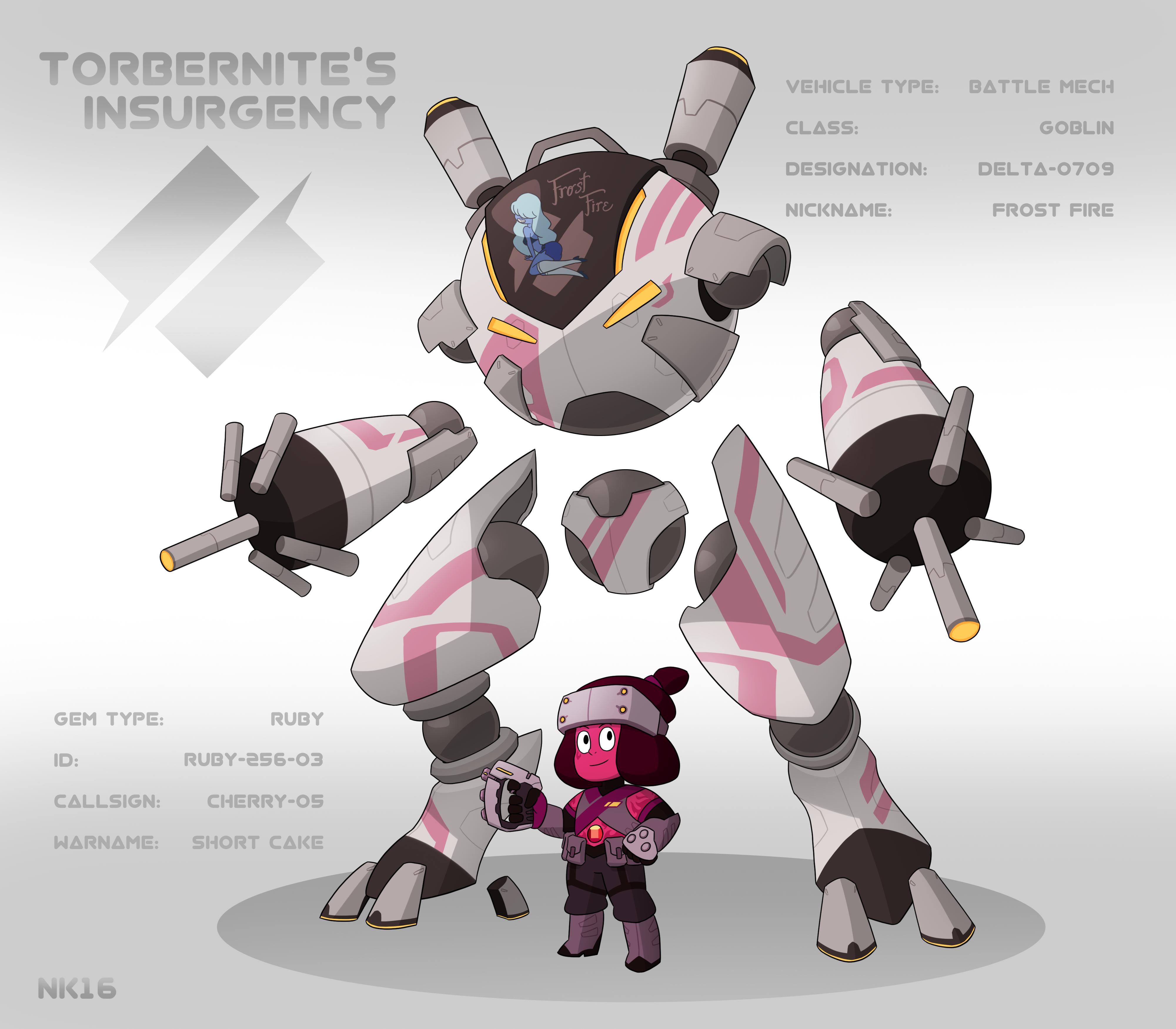 Torbernite S Insurgency Ruby Battle Mech Pilots By
