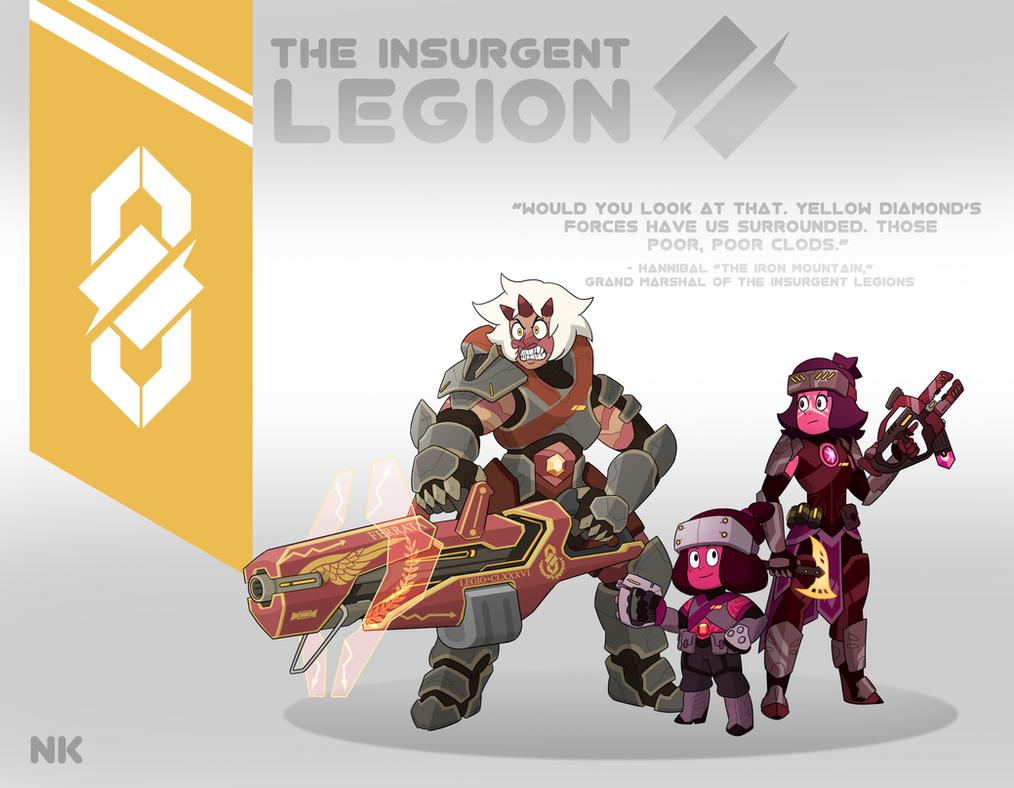 Torbernite's Insurgency: The Legion by TheGraffitiSoul
