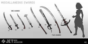 Jet Swords Series 1