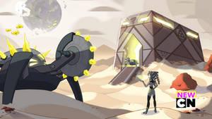 Tetrahedrite Excavator Foundry Commission