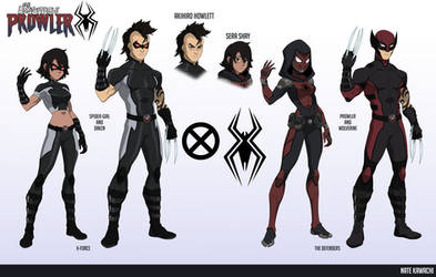 The Spider and The Wolverine (Earth-777) by TheGraffitiSoul
