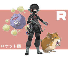Pokemon Rearmed Team Rocket Grunt