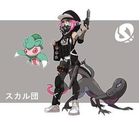Pokemon Rearmed Team Skull Grunt by TheGraffitiSoul