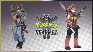 Pokemon Rearmed Aqua and Magma Promotional Art