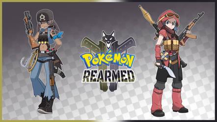 Pokemon Rearmed Aqua and Magma Promotional Art by TheGraffitiSoul