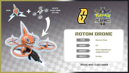 Pokemon Rearmed Rotom Drone by TheGraffitiSoul
