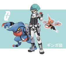 Pokemon Rearmed Team Galactic Grunt