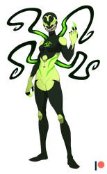 Biohazard Symbiote Patron Request by TheGraffitiSoul
