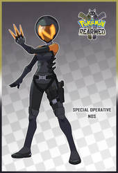Special Operative Nos (Pokemon Rearmed Commission) by TheGraffitiSoul