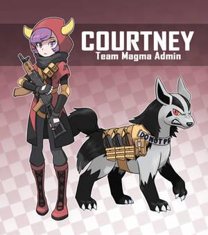 Magma Admin Courtney (Pokemon Rearmed Commission)