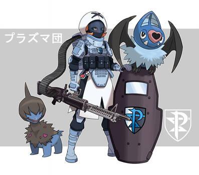 Pokemon Rearmed Team Plasma Grunt