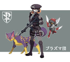 Pokemon Rearmed Team Plasma Grunt 2