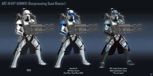 ARC Trooper Heavy Gunner (Quad Blaster)