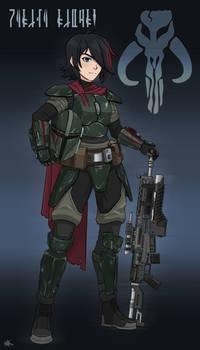 Marina Ridire - Female Mandalorian Commission