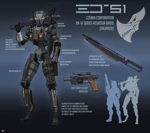 HK-51 Salvaged Assassin Droid