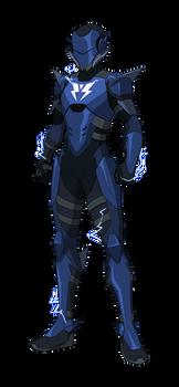 Silver Blur - Speedster Hero Commission