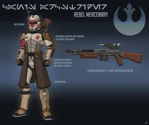 Canis Arcstrider - Rebel Mercenary Commission
