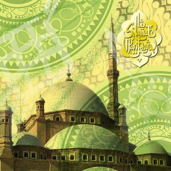 idul fitri card 2 by donnyrahman