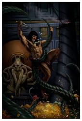 CONAN ROAD TO KINGS COVER 2 by Doug-Wheatley