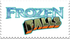 Frozen Falls-Stamp by azulmimi99