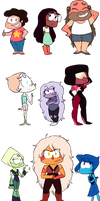 Steven Universe-Chibis!