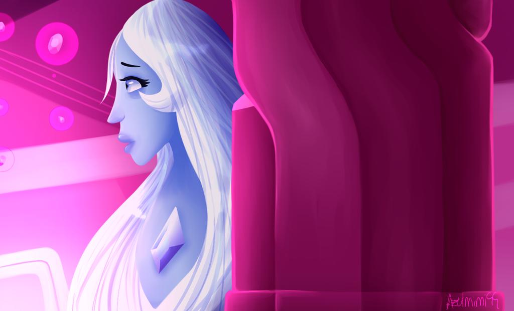 Blue Diamond-scene repaint by azulmimi99