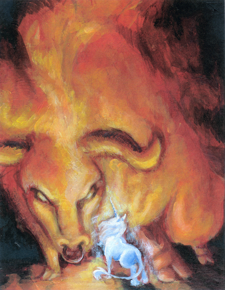The Last Unicorn by Lynntendo