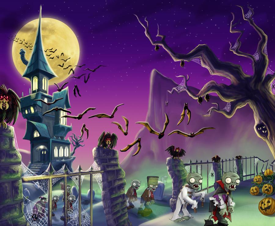 Bejewled Blitz Halloween by Lynntendo