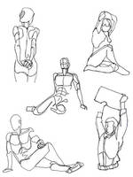 Life drawing 1 by GabrielChoquette