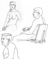 Life drawing 4 by GabrielChoquette