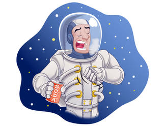 It is impossible to burp in space by GabrielChoquette