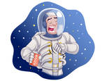 It is impossible to burp in space