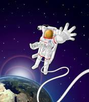 Astronaut by GabrielChoquette