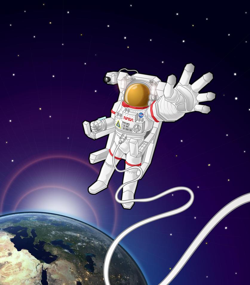 Astronaut by Sezuko704