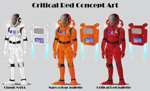 Critical Red Leader Concept Art by GabrielChoquette