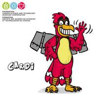 Mascot Concept Cardi by GabrielChoquette