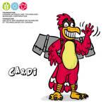 Mascot Concept Cardi