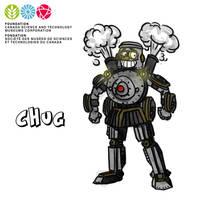 Mascot Concept Chug by GabrielChoquette
