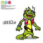 Mascot Concept Gecko