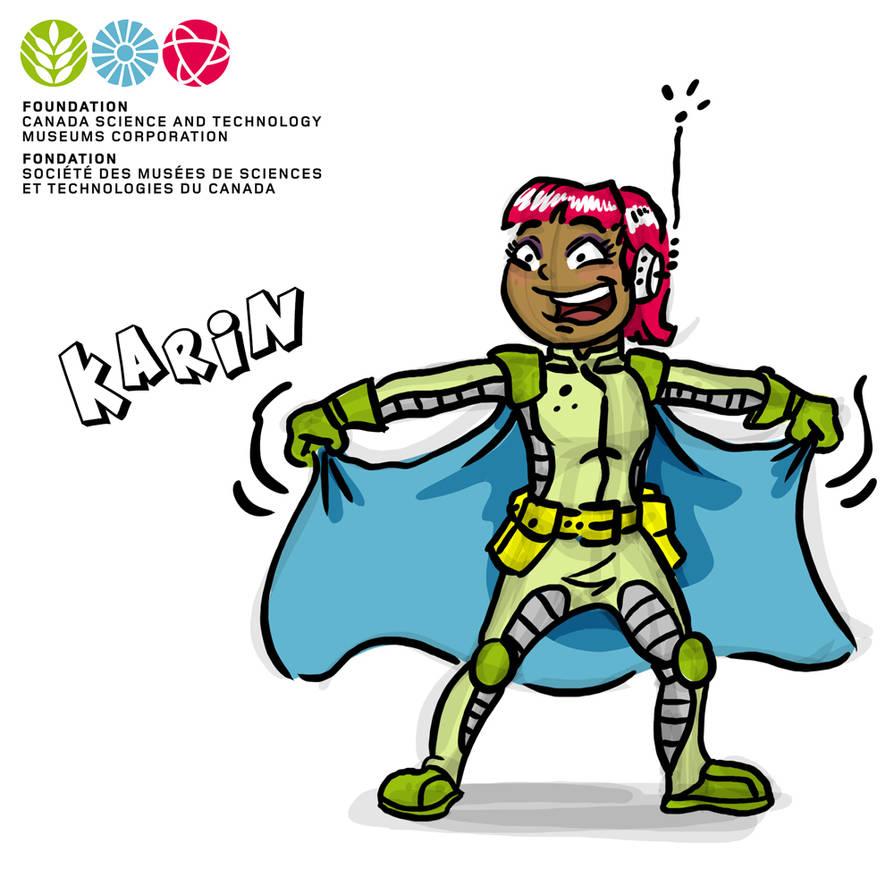 Mascot Concept Karin by GabrielChoquette