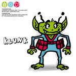 Mascot Concept Klunk