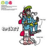 Mascot Concept Rocket