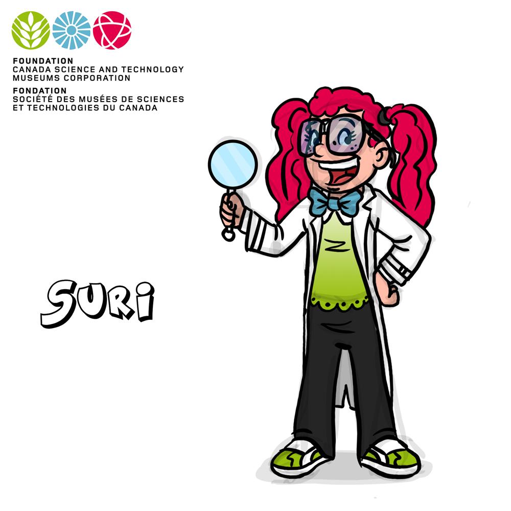 Mascot Concept Suri by GabrielChoquette