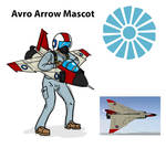 Avro Arrow Mascot