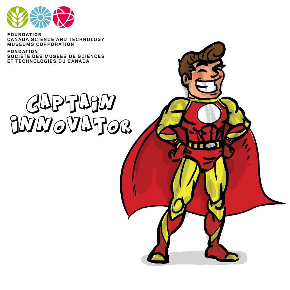 Captain Innovator by GabrielChoquette