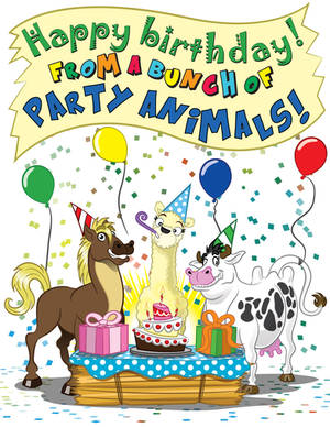 Birthday Animals
