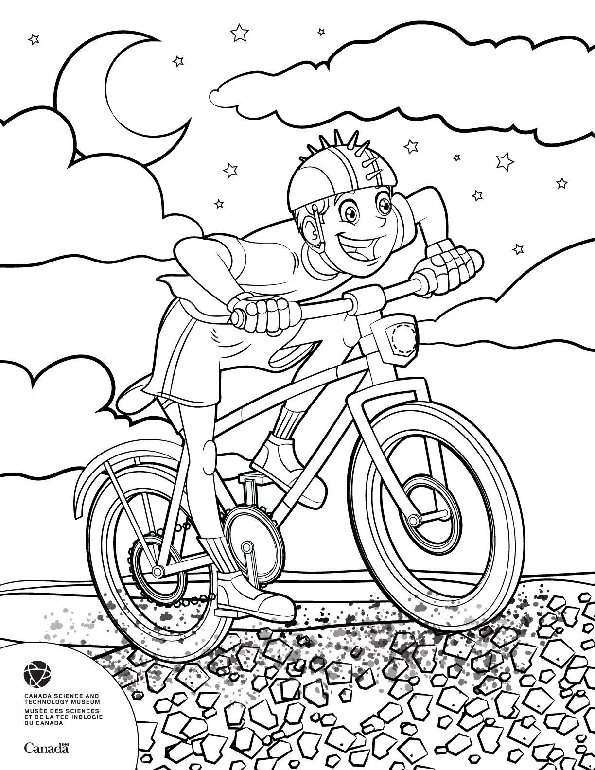 Kid on bike by GabrielChoquette